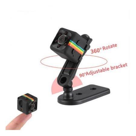 Image of SQ11 HD Camcorder HD Night Vision Mini Camera 1080P Aerial Sports DV Voice Video Recorder Red