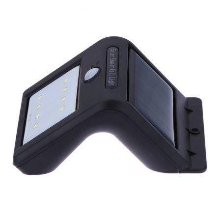 Image of 8-LED Solar Power Energy PIR Motion Sensor Waterproof Wall Light
