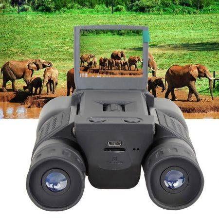 "Image of 2"" Color Screen HD 720P Video Recording 12X32 Digital Binocular Camera"
