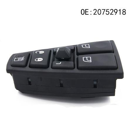 Image of Suitable for Volvo power window switch auto parts glass lift electric main switch 20752918