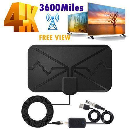 Image of TV Antenna, Indoor Amplified HD Digital TV Antenna