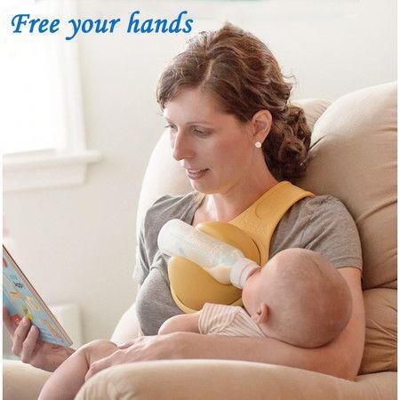 Image of Baby Feeding Bottle Holder Children Freehand Strap Leash Hands Stroller Feeding Fixing Bracket Baby Feeding Tools