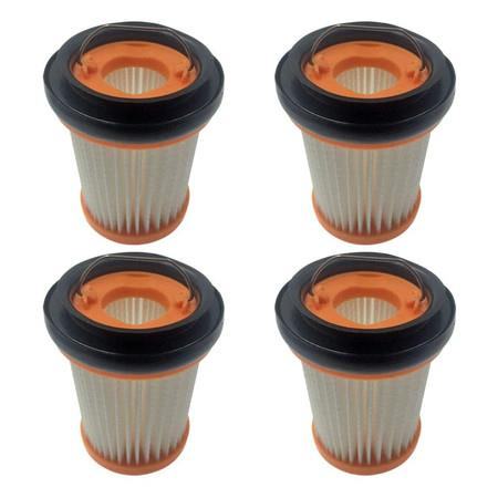 Image of 4 Pack HEPA Fabric Filter Compatible with Shark ION W1 Cordless Handheld WV200 WV201 WV205 WV220 Vacuum,Compare to Part # XHFWV200