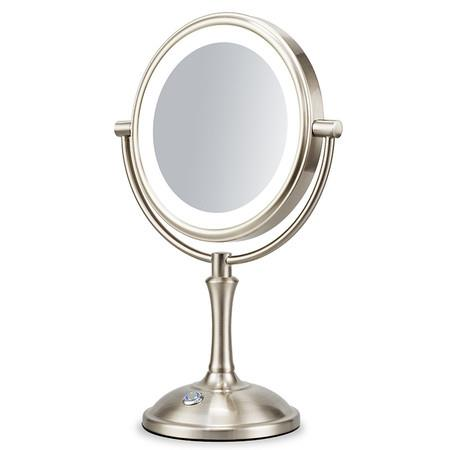 """Image of Professional 8"""" Lighted Makeup Mirror, 10X Magnifying Vanity Mirror with Brightness Adjustable Desk Lamp"""