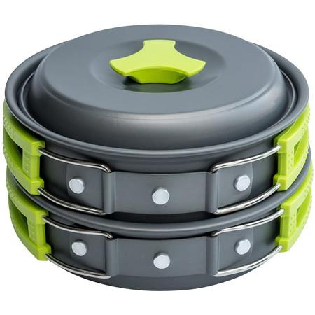 Image of Camping Cookware Mess Kit Gear