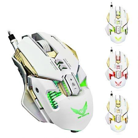 Image of ZERODATE X300 Professional 3200DPI Optical Programmable Wired Gaming Mouse