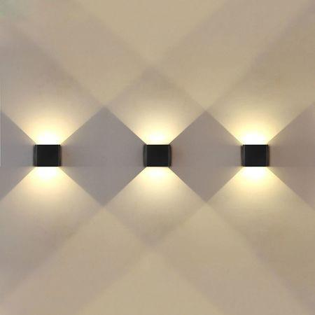 Image of Jiawen Led Wall Lamp 6W 2835SMD Outdoor/Indoor Wall Lights Garden Lights for Living Room Corridor Decoration Lighting