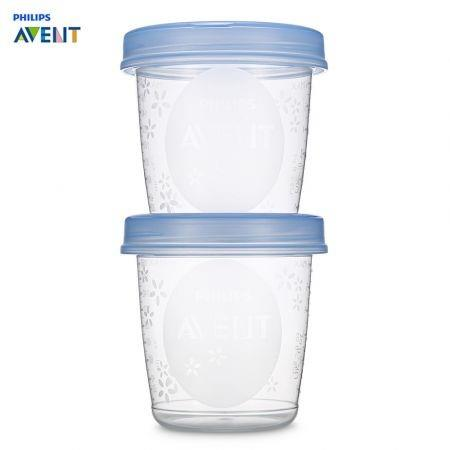 Image of Philips Avent 5pcs Baby 6oz / 180ml Breast Milk Storage Cups