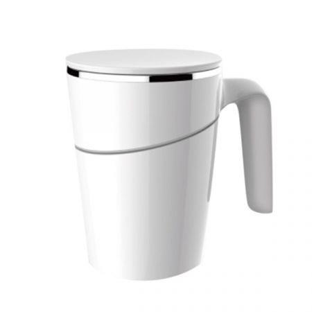 Image of 470ml Double Walled Anti-Slip Spill-free Stainless Steel Mug with Suction Base