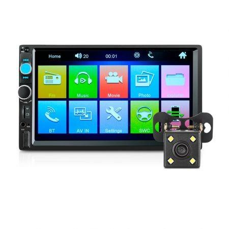 Image of 7010B 7 inch Car MP5 Player with 720P Camera