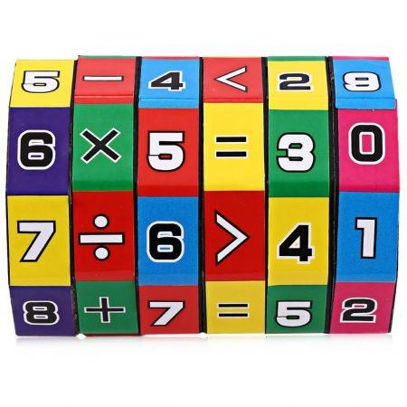 Image of 6-layer 7.2cm Height Puzzle Cube Children Education Learning Math Toy for Children