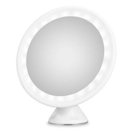 Image of 7X Magnification LED Rechargeable Bathroom Vanity Mirror