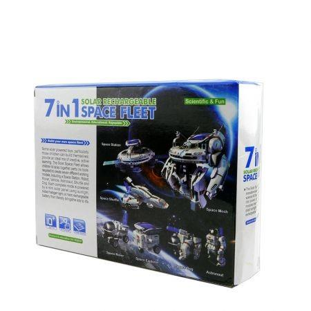 Image of Maikou 7 in 1 Solar DIY Assembling Toys Space Educational Toy