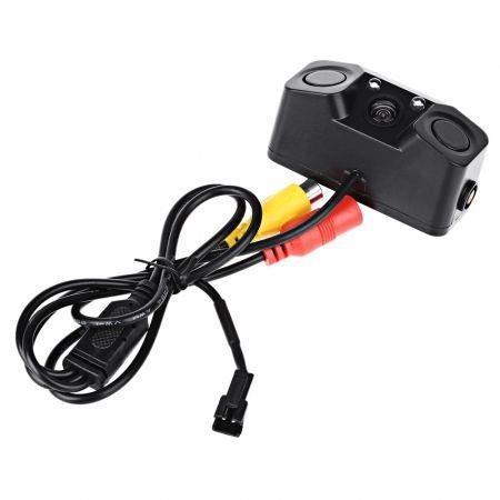 Image of 170 Degree Viewing Angle HD Car Rear View Camera with Radar Parking Sensor