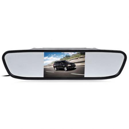 Image of 4.3 inch Color Digital TFT LCD Screen Car Rear View Mirror Monitor
