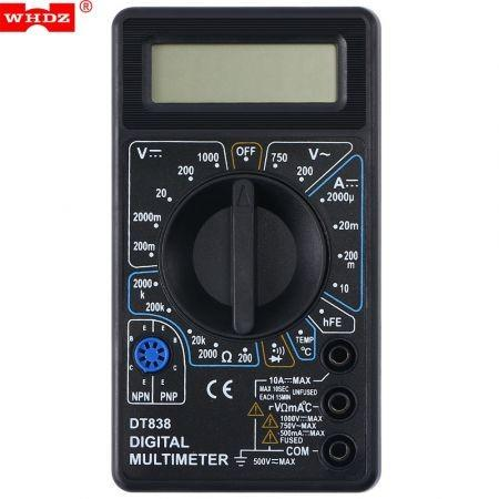 WHDZ DT838 LCD Digital Multimeter AC DC Tester Voltmeter