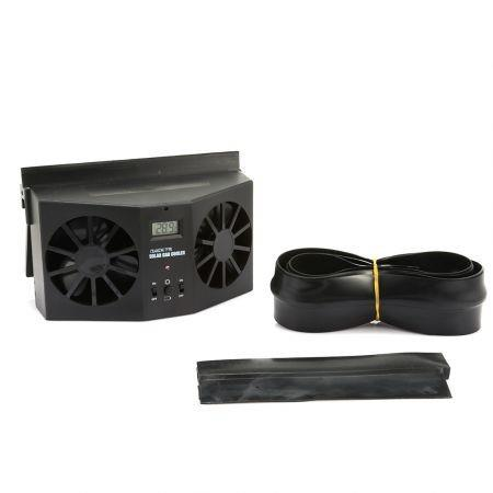 Image of Auto Ventilation Car Cooler Solar Powered Exhaust Fan
