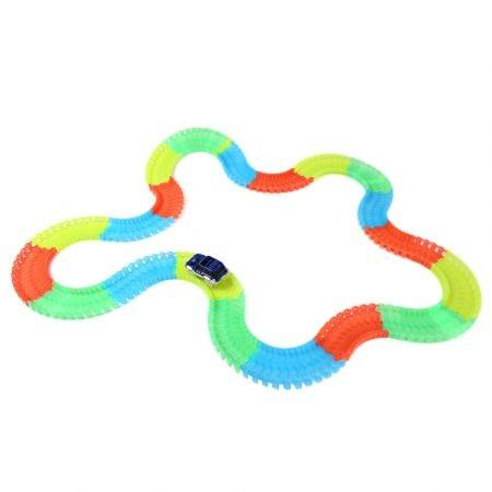 Image of NO.298 220PCS Racing Car Glow Twister Racing Tracks