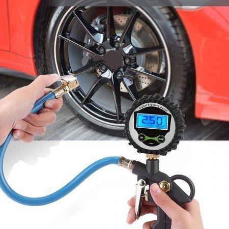 Image of Digital Car Tire Pressure Gauge
