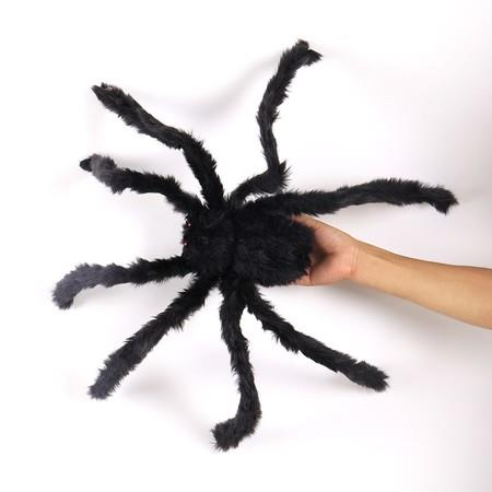 Image of Halloween Decoration Virtual Realistic Hairy Spider