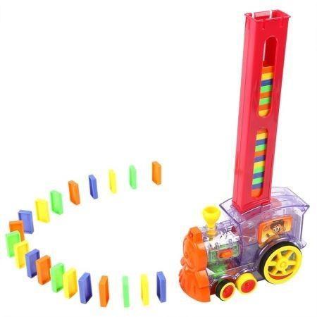 Image of Dominoes Block Train Toy