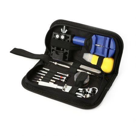 Image of 13pcs Watch Clock Repair Portable Watchmaker Tools