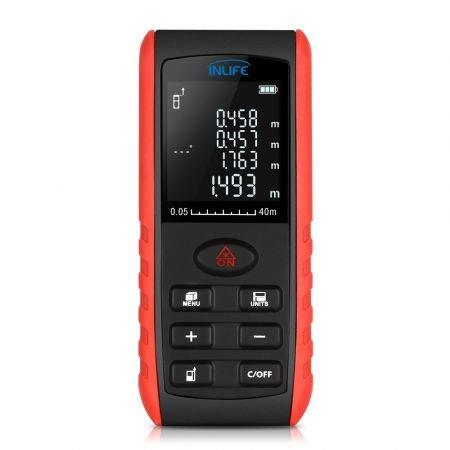 Image of Inlife E40 40M Handheld Digital Laser Distance Meter with High Accuracy