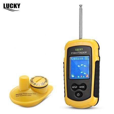 Image of LUCKY FFW1108 - 1 100M Fishing Sonar Wireless Fish Finder Alarm Sensor Transducer