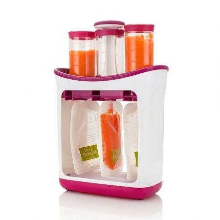 Image of Squeeze Station Baby Food Organization Storage Containers Fruit Puree Packing Machine