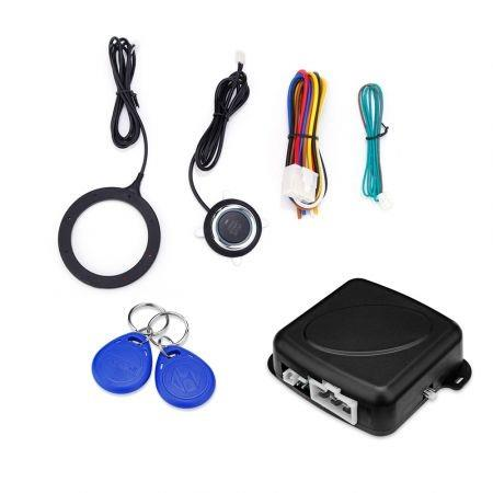 Image of GY902C Car Anti-theft System One Key Control Contactless ID Card