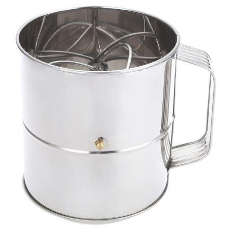 Image of Stainless Steel Sieve Cup Powder Flour Mesh Baking Tool