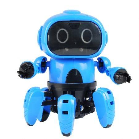 Image of MoFun - 963 DIY Assembled Electric Robot Infrared Obstacle Avoidance Educational Toy