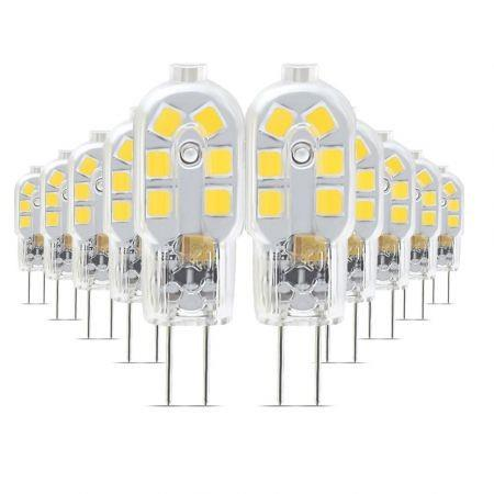 Image of 10PCS YWXLight G4 LED Lampe Lampada 360 Degree Transparent Shell AC 220 - 240V