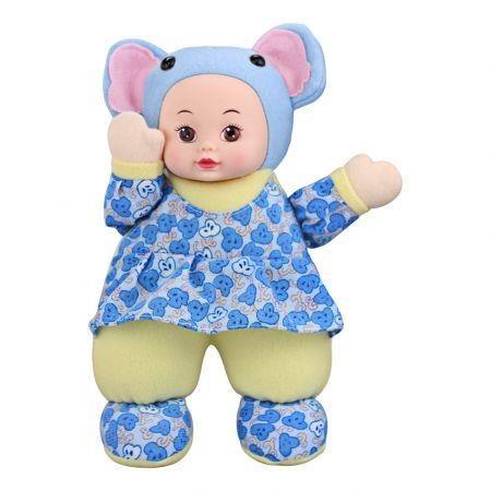 Image of T1232A Children Stuffed Cartoon Elephant Doll Birthday Gift