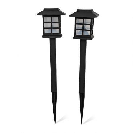 Image of 2pcs Sensor Solar LED Light Decorative Lamp for Outdoor Yard