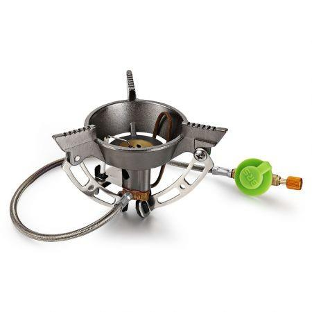 Image of BRS - 11 Outdoor Foldable Stove Gas Burner Camping Cooker