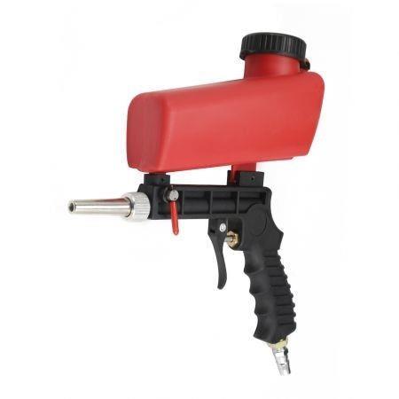 Image of Portable Gravity Sandblasting Gun Miniature Pneumatic Sand Blasting Device