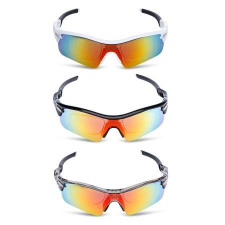 Image of FreeBee Windproof Cycling Sunglasses Bike Goggles Set