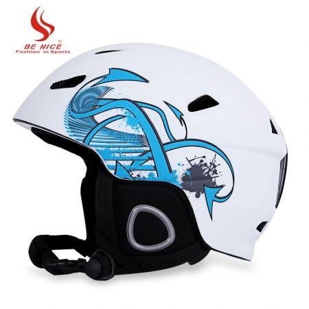 Image of BENICE Skiing Helmet with Inner Adjustable Buckle Liner Cushion Layer