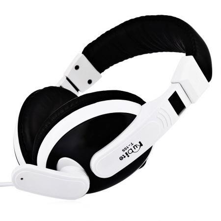 Image of Kubite T155 3.5MM Deep Bass Audio PC Gaming Headset Over-ear Headphones with Mic