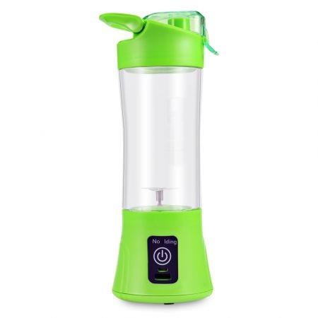 Image of Electric Juicer Cup Portable Rechargeable Blades Fruit Vegetable Juice Mixer