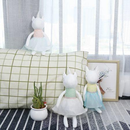 Image of 33CM Plush Toy Stuffed Unicorn Doll Children Birthday Gift