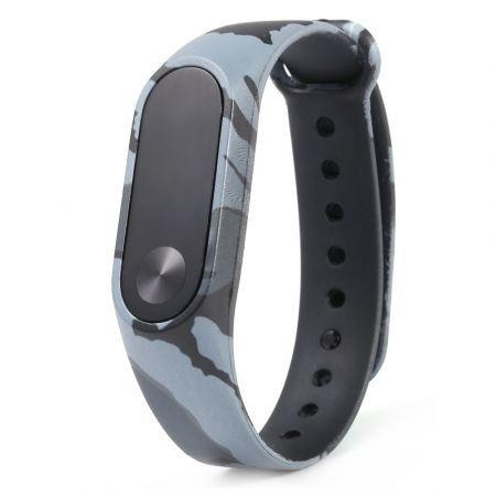 Image of Fashion Camouflage Pattern Watch Strap for Xiaomi Mi Band 2