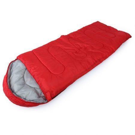 Image of Outdoor Camping Travel Envelope Water Resistance Hooded Sleeping Bag