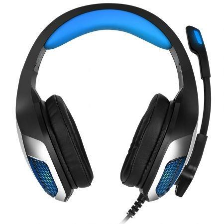 Image of Hunterspider V - 4 3.5mm Headsets Bass Gaming Headphones with Mic LED Light for Mobile Phone PC Xbox PC Laptop
