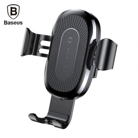 Image of Baseus Wireless Fast Charger Gravity Car Mount