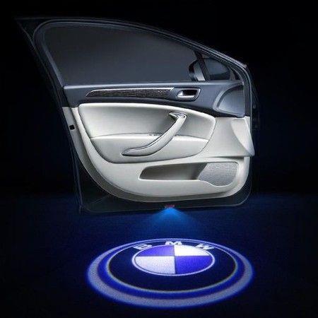 Image of 2Pcs for Car Door Lights Logo for, Car Door Led Projector Lights Shadow Ghost Light,Wireless Car Door Welcome Courtesy Lights Logo for All Car Models (BMW)