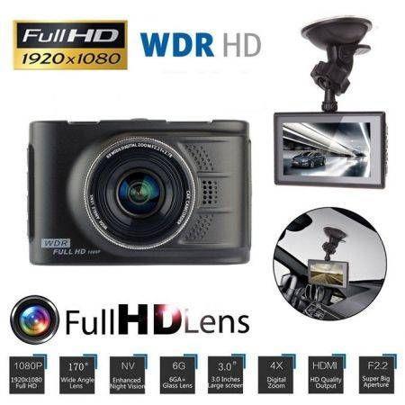 "Image of 3"" Full HD 1080P Car DVR CCTV Dash Camera G-sensor Vehicle Video Cam Recorder"