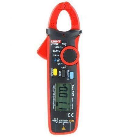Image of Mini Digital Multimeter Clamp Meter Measuring Tools