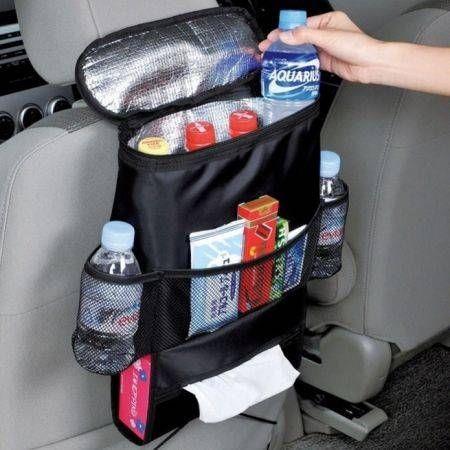 Image of Auto Car Seat Organizer Holder Multi-Pocket Travel Storage Bag Hanger Back
